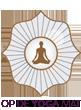 Op de Yogamat Logo